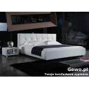 Łóżko tapicerowane do sypialni Gewo 182