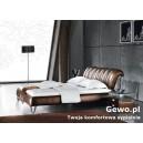 Łóżko tapicerowane do sypialni Gewo 205
