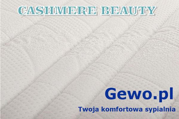 pokrowiec cashmere beauty na Materac lateksowy rehabilitacyjny antyalergiczny wysokoelastyczny Hevea Fitness Lateks