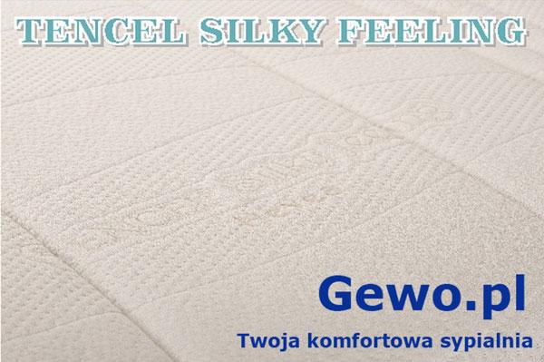 pokrowiec tencel silky feeling na Materac Hevea Fitness Lateks lateksowy rehabilitacyjny antyalergiczny wysokoelastyczny