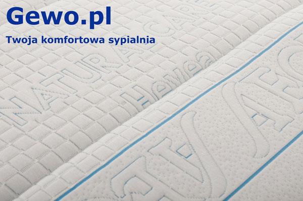 Materac do spania Hevea Topper Bio Climalatex lateksowy rehabilitacyjny antyalergiczny nawierzchniowy + Mega Gratisy