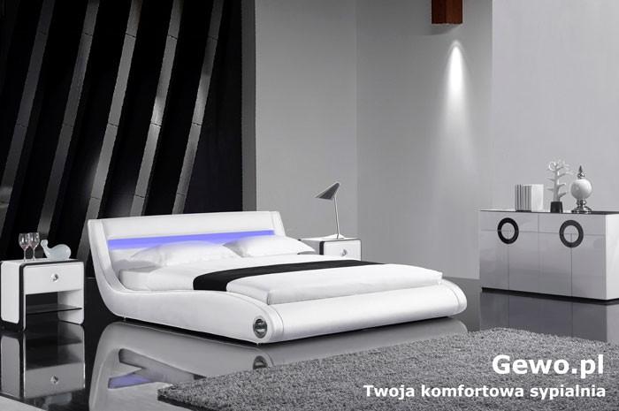łóżko Tapicerowane Do Sypialni Gewo 133 180x200 Cm