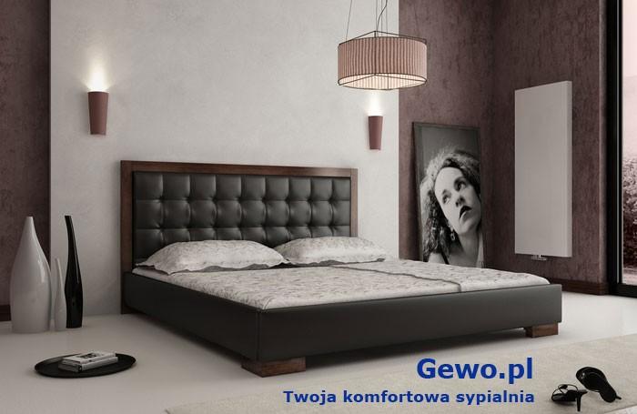 łóżko Tapicerowane Do Sypialni Gewo 117 160x200 Cm