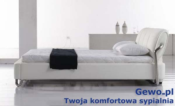Łóżko tapicerowane do sypialni Gewo 151 180x200 cm