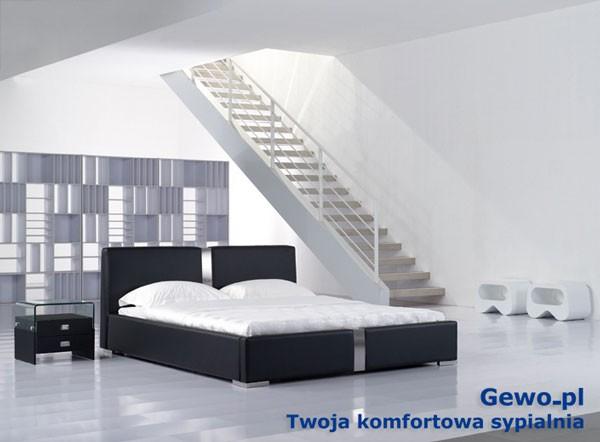 Łóżko tapicerowane do sypialni Gewo 159 180x200 cm