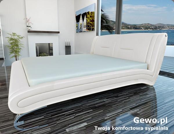 Łóżko tapicerowane do sypialni Gewo 161 100x200 cm