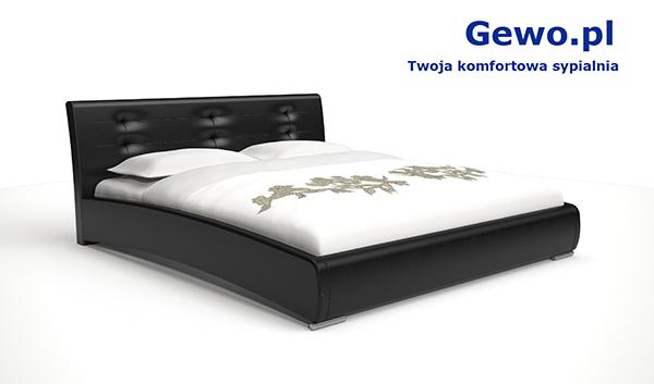 Łóżko tapicerowane do sypialni Gewo 109 200x200 cm