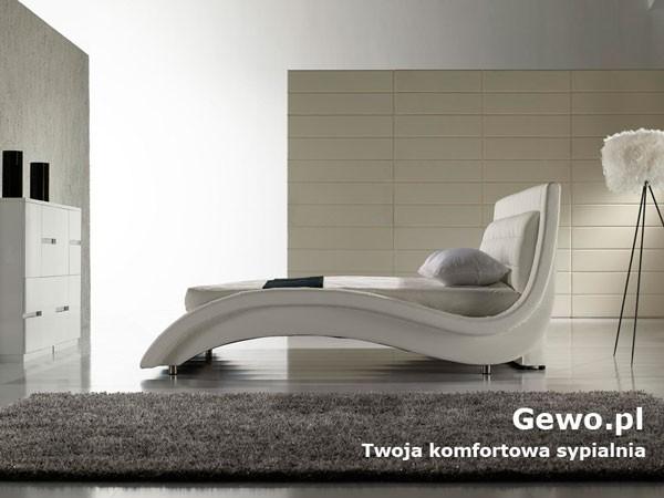 Łóżko tapicerowane do sypialni Gewo 158 180x200 cm