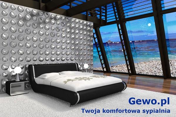 łóżko Tapicerowane Do Sypialni Gewo 162
