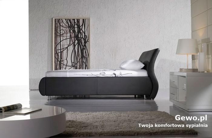 Łóżko tapicerowane do sypialni Gewo 102 140x200 cm
