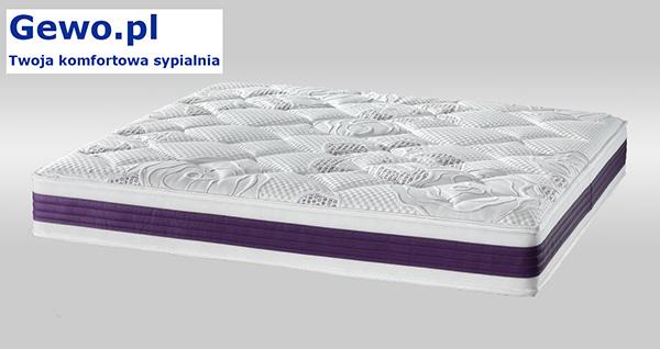 Materac Ravenna Visco Lux 250 H2/H3 piankowy, wysokoelastyczny ATM - pokrowiec IDEAL 111956