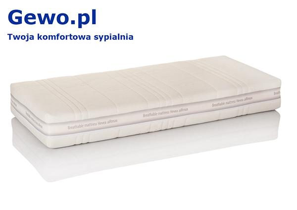 Materac do spania lateksowy ortopedyczny antyalergiczny Hevea Comfort Prestige