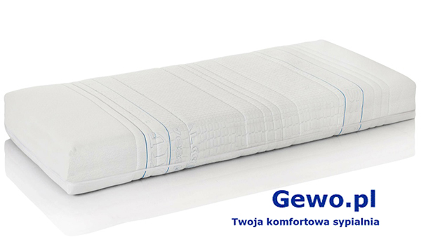 Materac do spania Hevea Fitness Lateks wysokoelastyczny lateksowy rehabilitacyjny antyalergiczny + Mega Gratisy