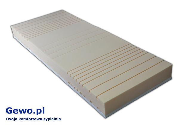 Materac do spania Hevea Fitness Lateks lateksowy ortopedyczny antyalergiczny wysokoelastyczny