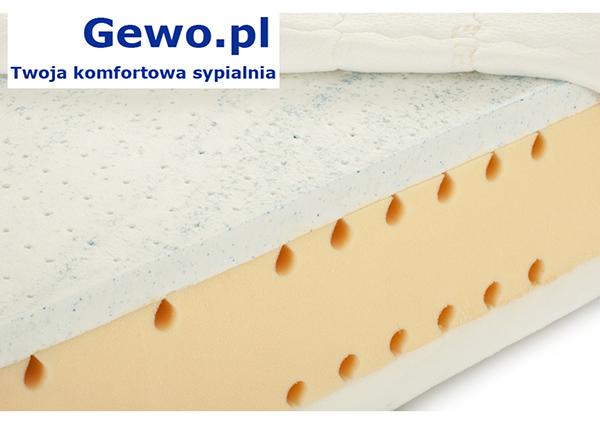 Materac do spania Hevea Thermomagic lateksowy ortopedyczny antyalergiczny wysokoelastyczny