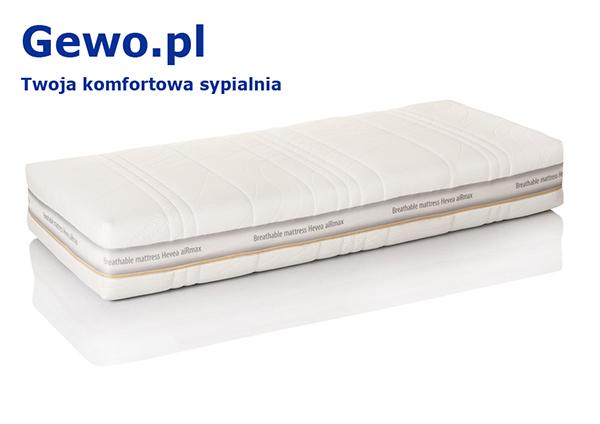 Materac do spania lateksowy ortopedyczny antyalergiczny Hevea Comfort Royal