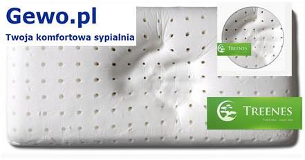 Poduszka do spania Treenes Silver- ortopedyczna antyalergiczna