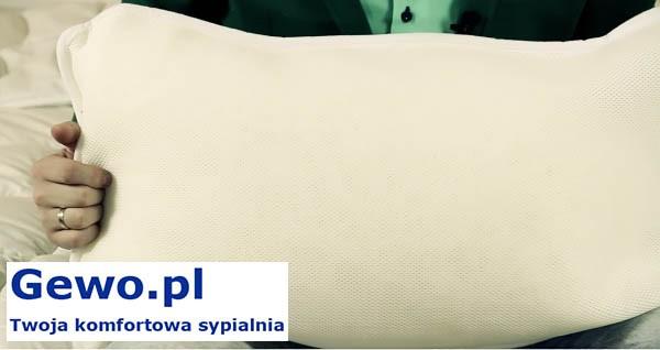Poduszka do spania Treenes Simple i Duo 40x65 cm - ortopedyczna antyalergiczna
