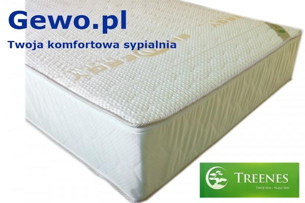 Materac do spania Treenes Exclusive Premium Double Gold 35 ortopedyczny piankowy wysokoelastyczny - gewo.pl