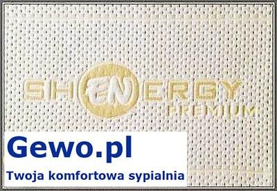 Materac do spania Treenes Exclusive Premium Visco Double Gold 35 ortopedyczny piankowy wysokoelastyczny - gewo.pl