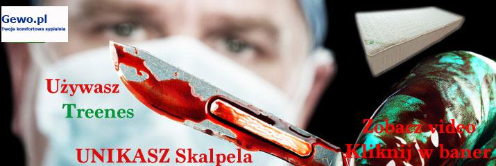 certyfikat materac do spania treenes visco gold 20 - 150x200 cm wysokoelastyczny ortopedyczny - gewo.pl