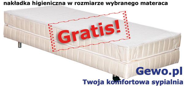gratis nakładka higieniczna do materaca andromeda