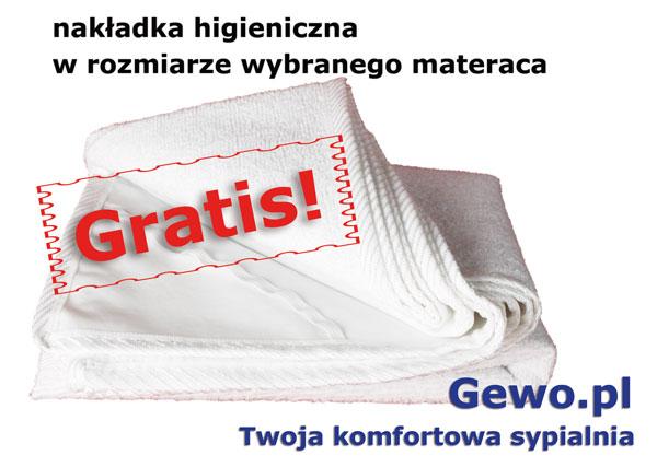gratis nakładka higieniczna do materaca andromeda - Janpol