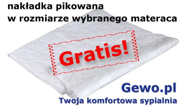 gratis nakładka pikowana do materaca andromeda - Janpol