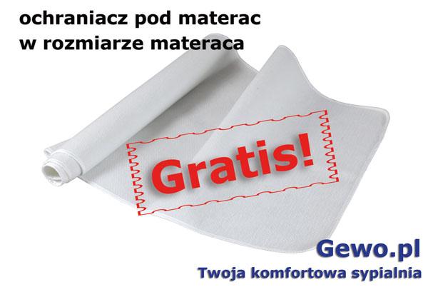 gratis ochraniacz pod materac do materaca andromeda firmy Janpol