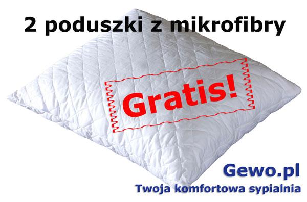 gratis poduszki mikrofibra do materaca janpol Vita 180x200 cm